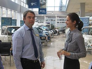 Менеджер отдела продаж Субару Центр Химки стал победителем конкурса среди менеджеров Subaru «У Сервис+»